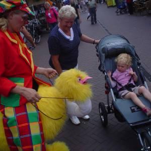 Gerritje Grijpgraag en Dompie de Clown boeken