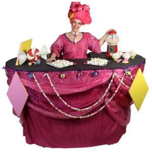 Miss Mable Table - Snoepjes huren?