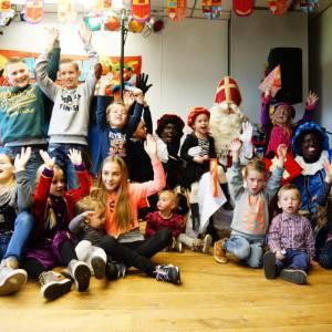 Zwarte Pieten Disco Feest sinterklasshow inzetten