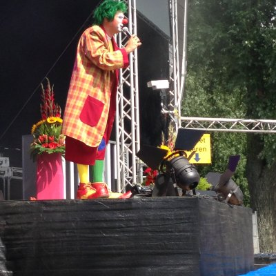 Clown Jopie inhuren