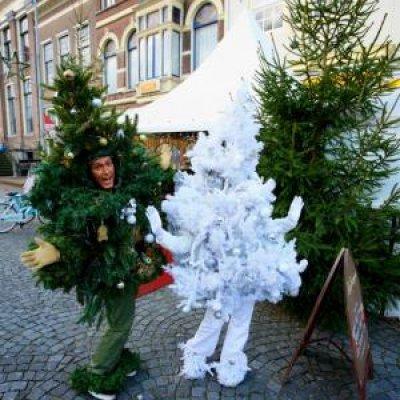 Foto van Het levende Kerstboompje! | Sint en Kerst