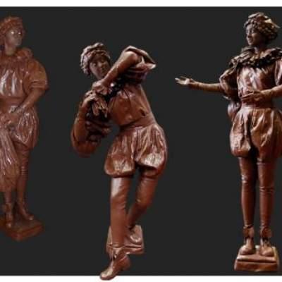 Levend Standbeeld - Chocolade Pietje boeken?