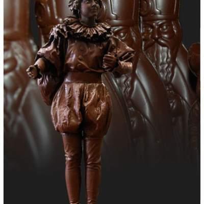 Fotoalbum van Levend Standbeeld - Chocolade Pietje | Sinterklaasshow.nl