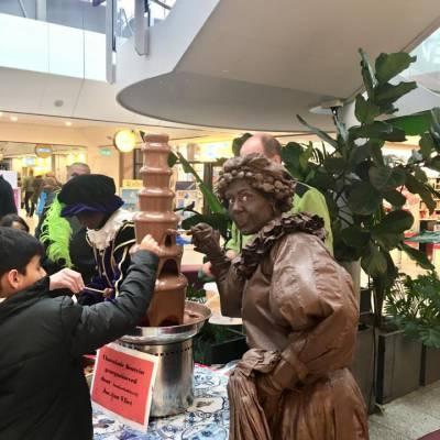 Levend Standbeeld - Chocolade Pietje boeken of inhuren?