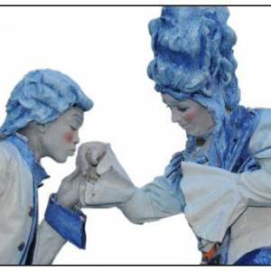 Levend Standbeeld - Duo Kunst & Kitsch boeken?