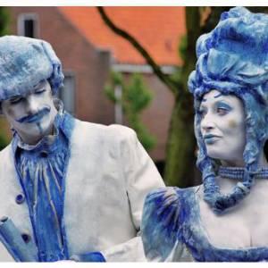 Levend Standbeeld - Duo Kunst & Kitsch boeken of inhuren?