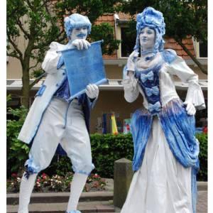 Levend Standbeeld - Duo Kunst & Kitsch inzetten of boeken?