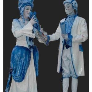 Duo Kunst & Kitsch - Levende Standbeelden boeken