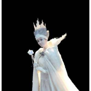 Levend Standbeeld - Winter Koningin boeken?