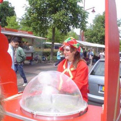 Fotoalbum van Suikerspin | Clownshow.nl
