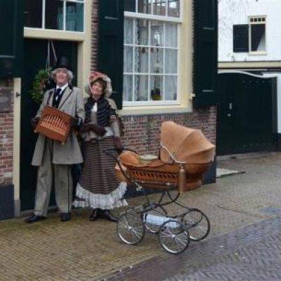 Foto van Dickens Orgelman en Theemadam | Sint en Kerst
