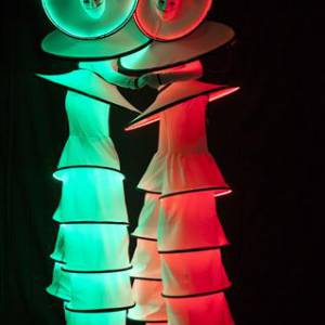 Steltloopact - Circle Mania LED inhuren?