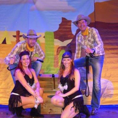 Fotoalbum van Dikdakkers Cowboys en Indianenshow | Kindershows.nl