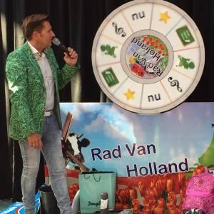 Presentator Rad van Holland Spelshow