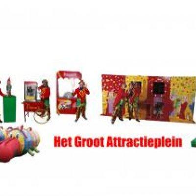 Fotoalbum van Groot Attractieplein | Clownshow.nl
