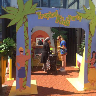 Tropical Kids Party - Klein boeken?