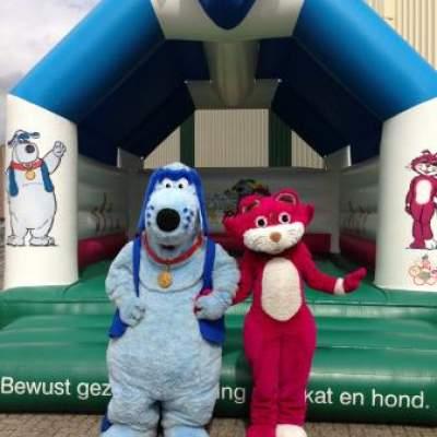 Fotoalbum van Meet & Greet Prins de Hond en Ploes de Poes | Kindershows.nl