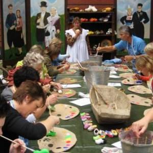 Klompen schilder Workshop - Het Klompenatelier boeken
