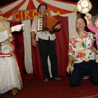 Circus voor Sinterklaas boeken?