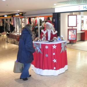 Walking Christmas Table inhuren?