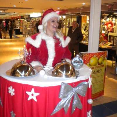 Walking Table - Christmas boeken of inhuren?
