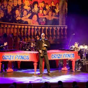 Crazy Pianos on Tour boeken of inhuren?