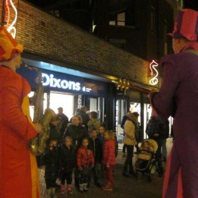 Foto van Orkest op Stelten - Big Boys | Kindershows.nl