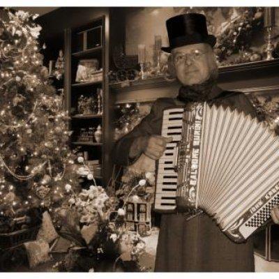 Foto van Dickens Accordeonist Hans | Sint en Kerst