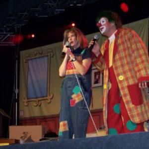 Theatershow Clown Jopie & Tante Angelique boeken?