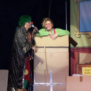 Theatershow Clown Jopie & Tante Angelique inzetten?