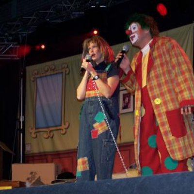 Theatershow Clown Jopie & Tante Angelique boeken?