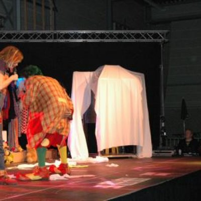 Clown Jopie & Tante Angelique Theatershow boeken?