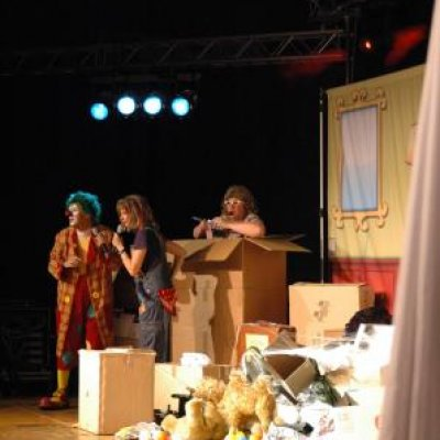 Clown Jopie & Tante Angelique Theatershow inzetten?