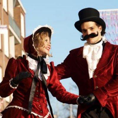 Foto van Dickens Steltlopers | Sint en Kerst