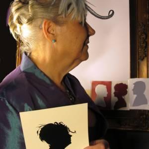 Portretknipster Jeanette - Silhouetknipster boeken?