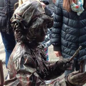 Levend Standbeeld - Mademoiselle Parfum inzetten?