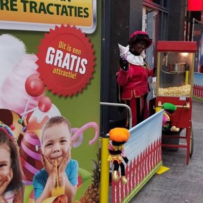Het Zwarte Pieten Parcours - Klein inzetten?