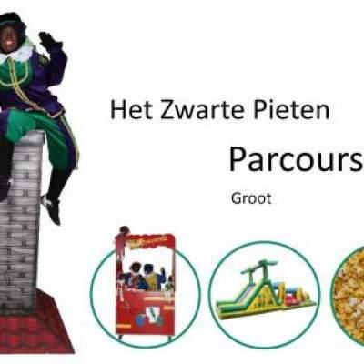 Fotoalbum van Het Zwarte Pieten Parcours - Groot | Kindershows.nl