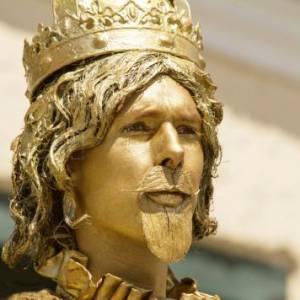 Levend Standbeeld - Koning Midas boeken?