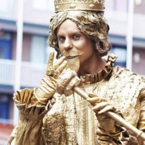 Levend Standbeeld - Koning Midas inhuren?