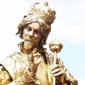 Levend Standbeeld - Koning Midas boeken of inhuren?