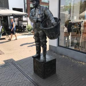 Levend Standbeeld de Mosselman