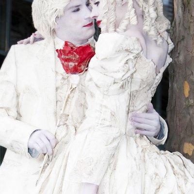 Levende standbeelden hart veroverend boeken bij artiestenbureau jb productions - Fotos van levende ...