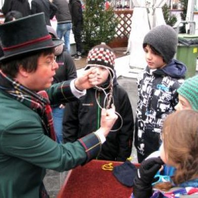 Foto van Charles Dickens Goochelaar | Sint en Kerst