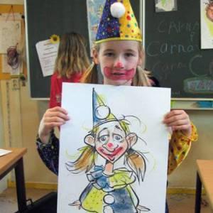 Karikatuurtekenaar - Marion