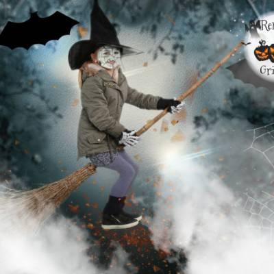 Foto van Halloween Greenscreen Fotografie | Attractiepret.nl