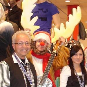 Muzikaal en Zingend Rendier Rudolf inzetten?
