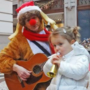 Muzikaal en Zingend Rendier Rudolf boeken of inzetten