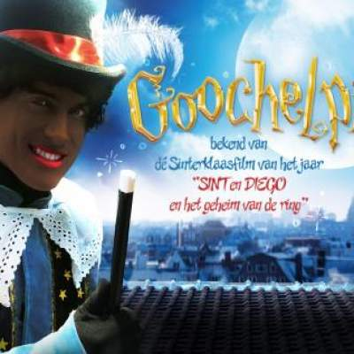 Foto van Goochelpiet bekend uit Sinterklaasfilm | Goochelshows.nl