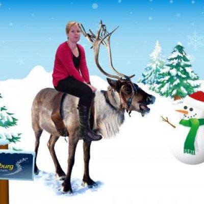 Foto van Greenscreen Fotografie voor Kerst | Artiestenbureau SintenKerst.nl